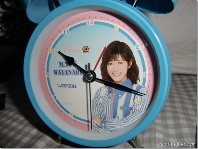 LAWSON AKB48 10th anniversary Watanabe Mayu alarm clock! (3)