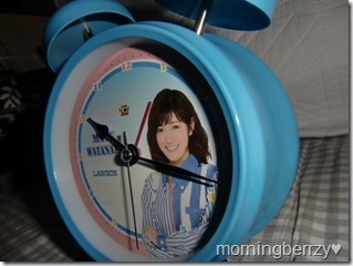 LAWSON AKB48 10th anniversary Watanabe Mayu alarm clock! (4)