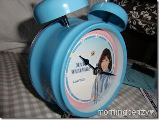 LAWSON AKB48 10th anniversary Watanabe Mayu alarm clock! (5)