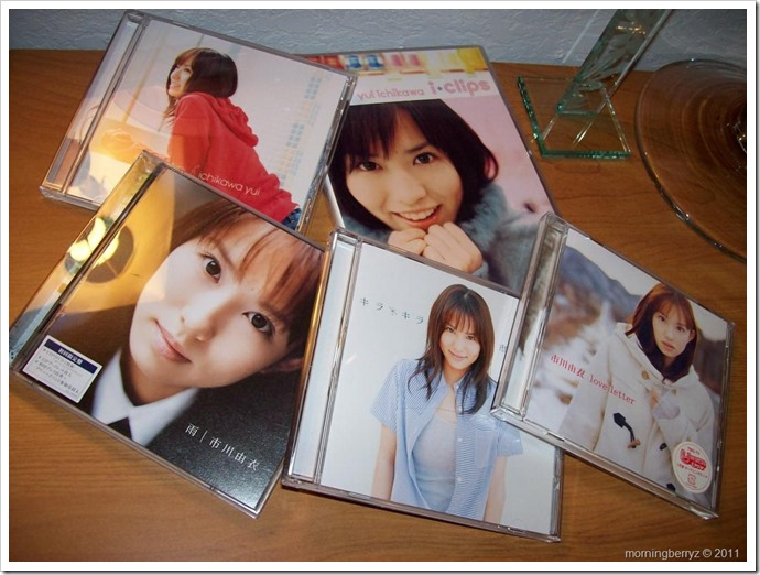 My Ichikawa Yui music collection
