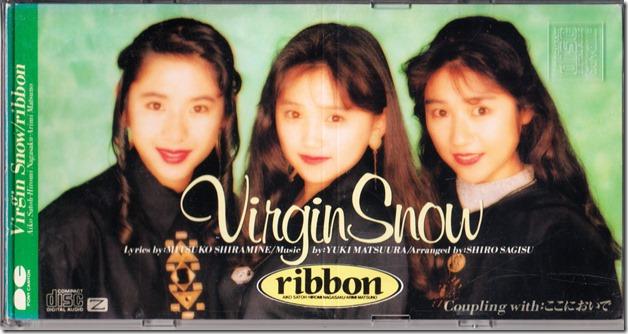 Ribbon Virgin Snow single cover scan