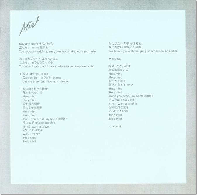 Amuro Namie Mint LE jacket scans (4)