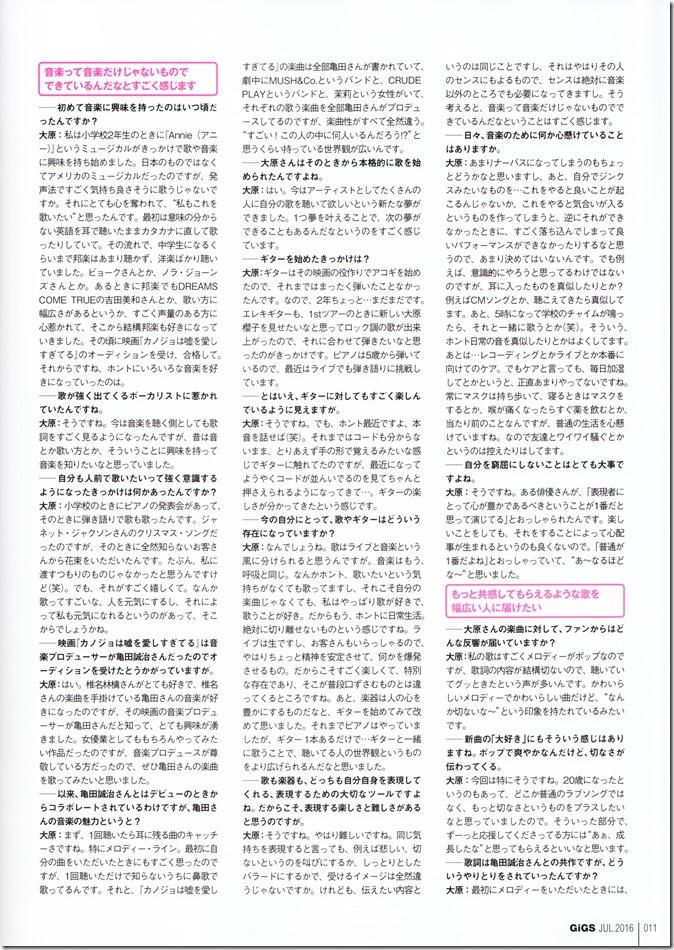 GIGS No.434 July 2016 issue FT. Ohara Sakurako (6)