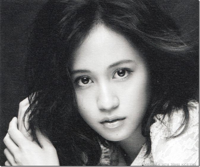 Maeda Atsuko Selfish (message card front)