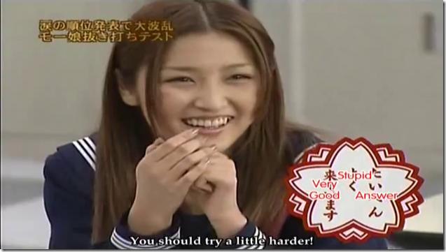Morning Musume in Mechaike Bakajo Test (23)