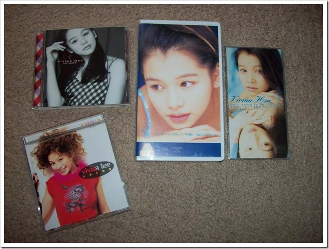 my Vivian Hsu music collection...