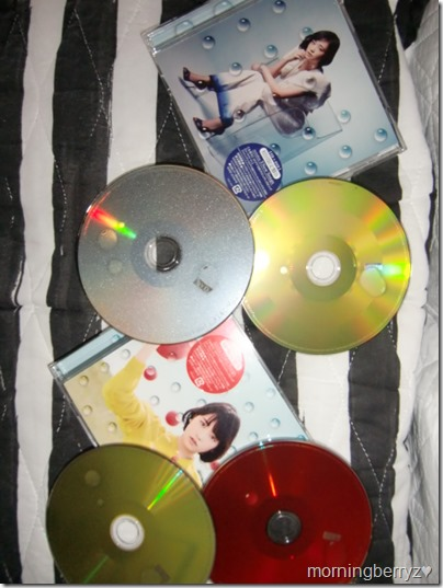 Ohara Sakurako Daisuki singles types A & B