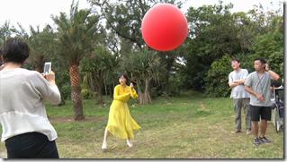 Ohara Sakurako in Daisuki making of (11)