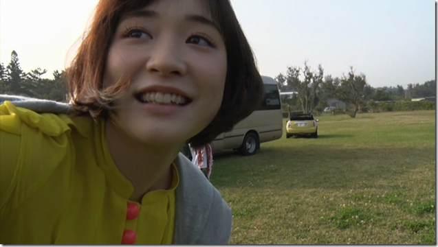 Ohara Sakurako in Daisuki making of (1)