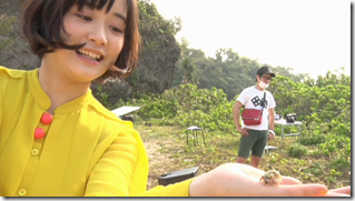 Ohara Sakurako in Daisuki making of (5)