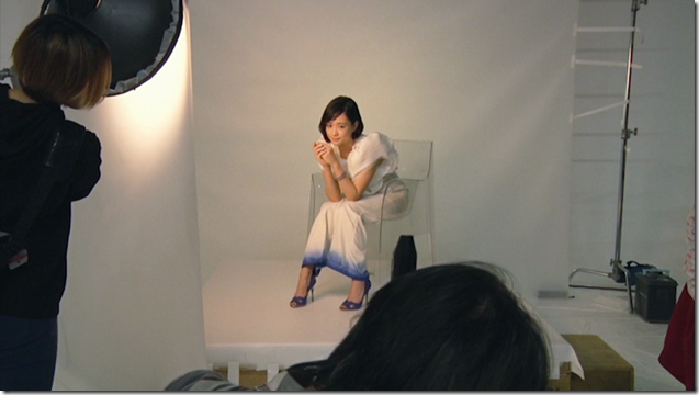 Ohara Sakurako in Tremolo Rain making of (2)