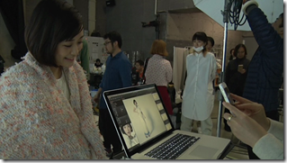 Ohara Sakurako in Tremolo Rain making of (9)