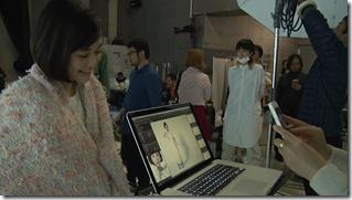 Ohara Sakurako in Tremolo Rain making of (9)