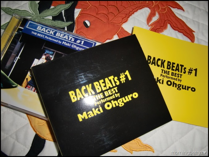 Ohguro Maki Back Beats #1 The Best Performed by Maki Ohguro CD
