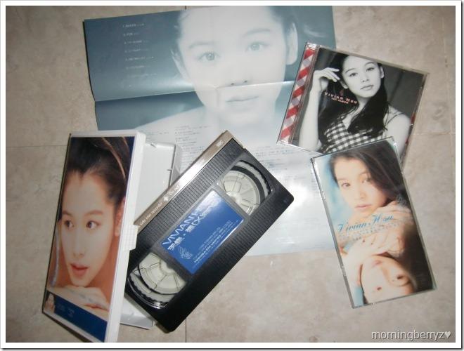 Vivian Hsu Tensi Xiang VHS, 1st album & Hachigatsu no Valentine CD single