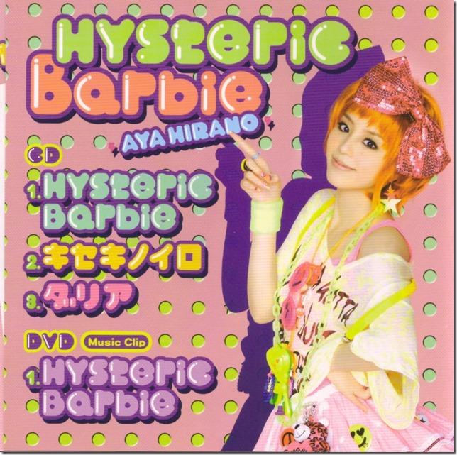 Hirano Aya Hysteric Barbie (inner jacket scan)
