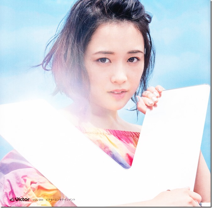 Ohara Sakurako V LE lyric & liner notes booklet (13)