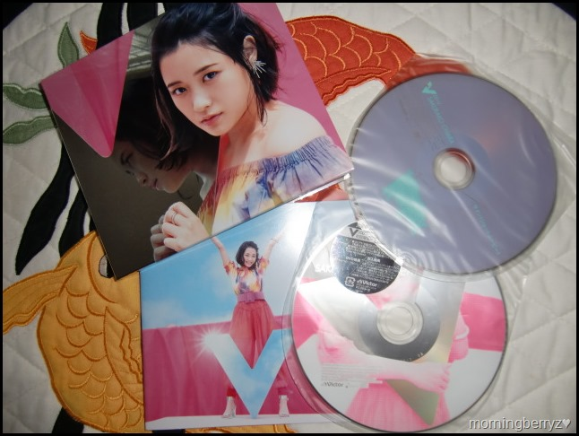 Ohara Sakurako V LE type B album with DVD & special mirrored packaging