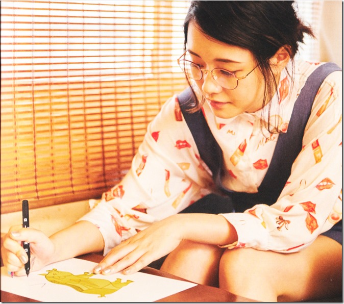 Ohara Sakurako V Limited Edition 64p booklet (4)