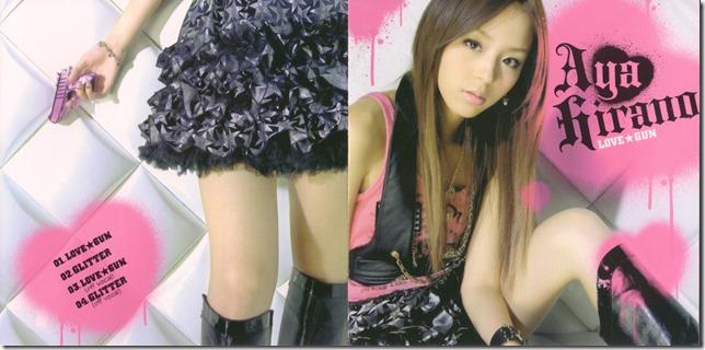 "Hirano Aya ""LOVE GUN"" single (jacket scan)"