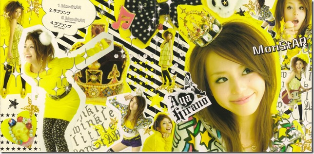 "Hirano Aya ""MonStAR"" single (jacket scan)"