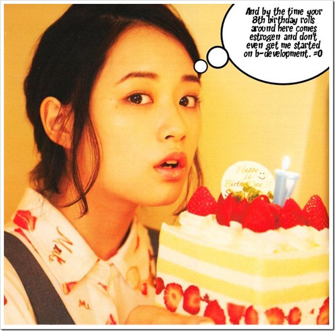 V thoughts with Sakurakochan..