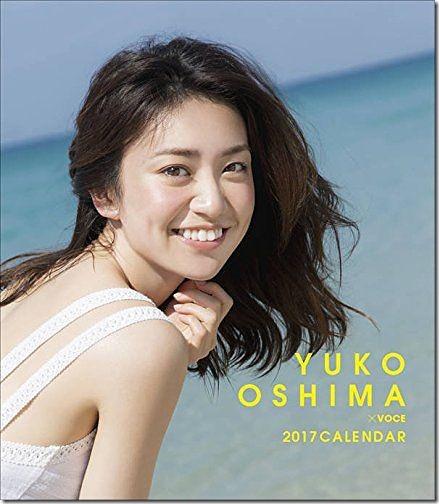 Oshima Yuko 2017 desktop calendar