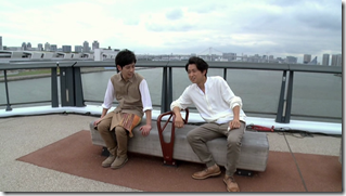 ARASHI in Power of the Paradise making.. (11)