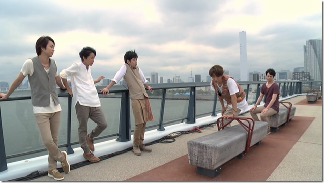 ARASHI in Power of the Paradise making.. (19)
