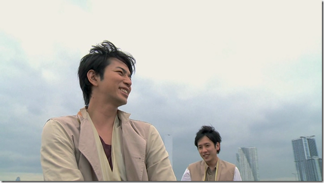 ARASHI in Power of the Paradise making.. (21)