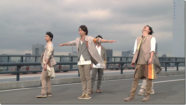 ARASHI in Power of the Paradise making.. (24)