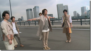 ARASHI in Power of the Paradise making.. (25)