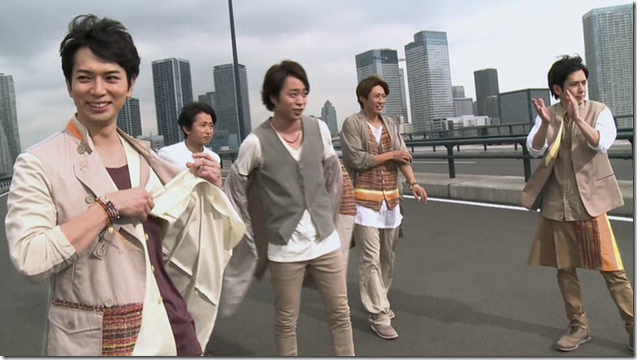 ARASHI in Power of the Paradise making.. (26)