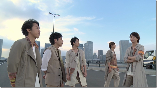 ARASHI in Power of the Paradise making.. (36)