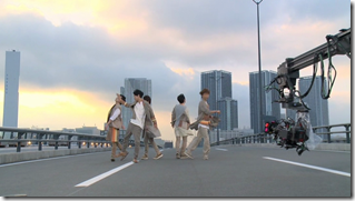 ARASHI in Power of the Paradise making.. (37)