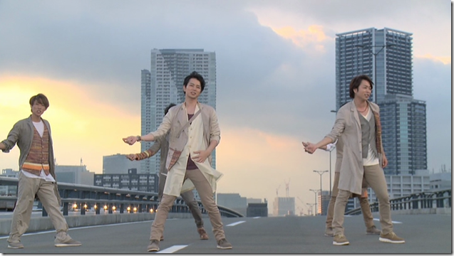 ARASHI in Power of the Paradise making.. (39)
