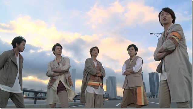 ARASHI in Power of the Paradise making.. (42)