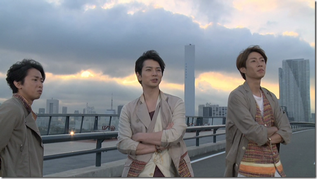 ARASHI in Power of the Paradise making.. (43)