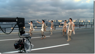 ARASHI in Power of the Paradise making.. (54)