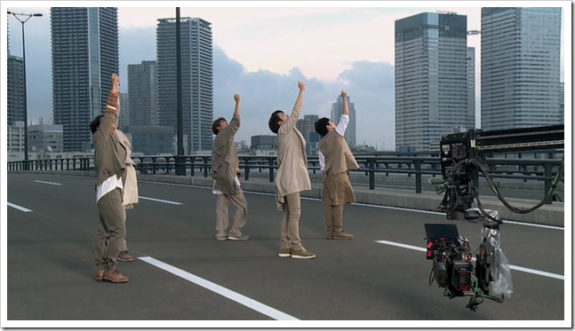 ARASHI in Power of the Paradise making.. (55)