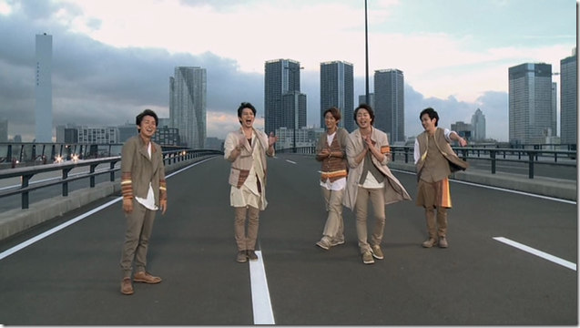 ARASHI in Power of the Paradise making.. (56)
