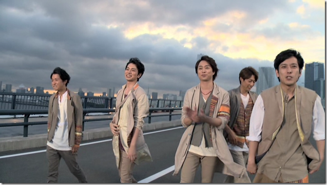 ARASHI in Power of the Paradise making.. (59)