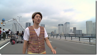 ARASHI in Power of the Paradise making.. (8)