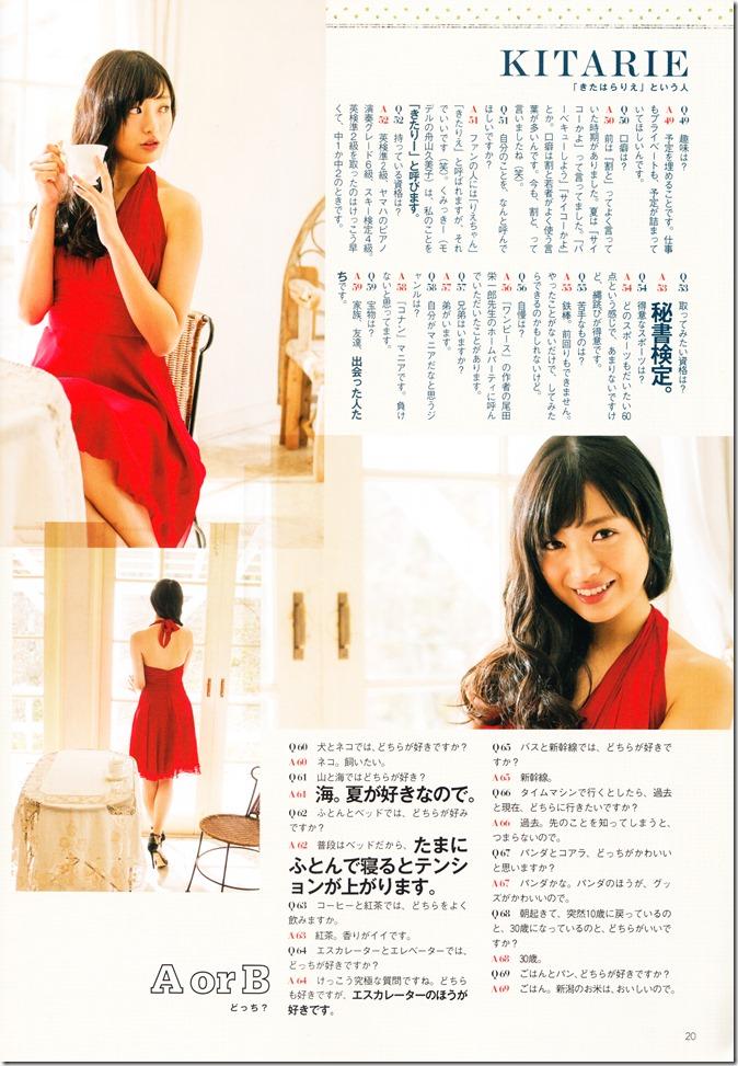 GIRLS PURE IDOL MAGAZINE VOL46 FT. Covergirl Kitahara Rie (19)