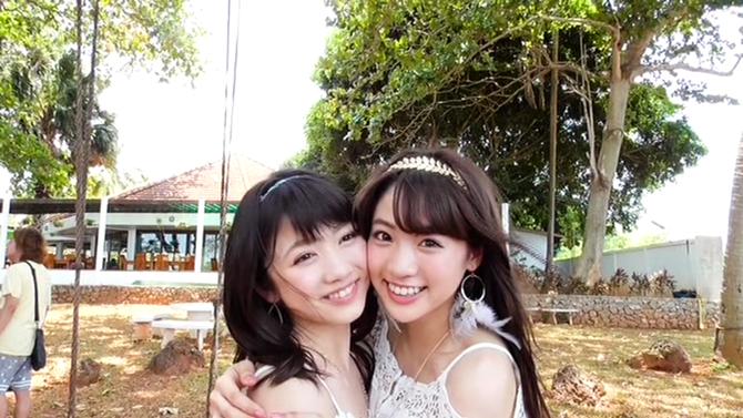 Shida Summer x Arai Summer in Annani sukidatta summer (making) (28)
