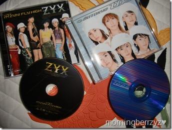 ZYX Iku ZYX FLY HIGH & Shiroi TOKYO pv DVD singles