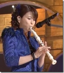 Moritaka Chisato on the recorder...