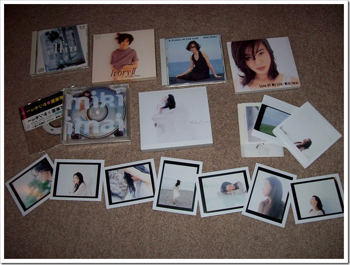 my Imai Miki collection~♥